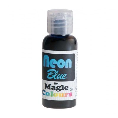 Magic Colours Gel -NEON BLUE -Φωσφοριζέ Πάστα/Ζελέ -Μπλε 32γρ