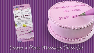 PME Stamps -Create N Press Set - Σετ σφραγίδες Γράμματα και Αριθμοί