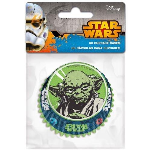SALE!!! Themed Baking Cases -Star Wars. Pack of 60 - Θήκες ψησίματος πόλεμος των άστρων 5x3.5εκ