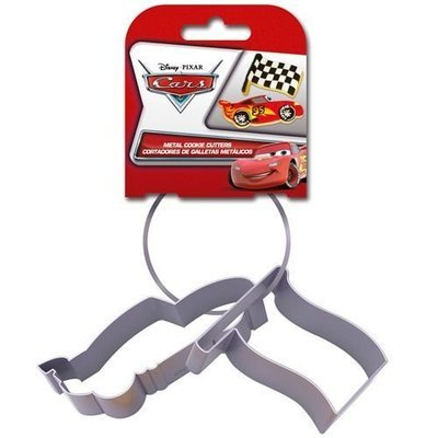 Cookie Cutter -Set of 2 -CARS McQUEEN - Σετ 2τεμ κουπ πατ Αυτοκίνητο και Σημαία Μακουίν ∞