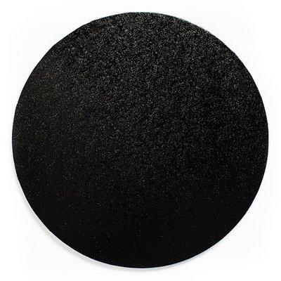 Cake Drum Round -BLACK 30cm (12