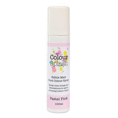 Colour Splash SPRAY -MATT PASTEL PINK 100ml Βρώσιμο Σπρέϊ με Χρώμα -Ροζ Παστέλ Ματ ∞
