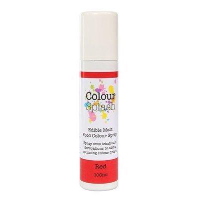 SALE!!! Colour Splash SPRAY -MATT RED 100ml Βρώσιμο Σπρέϊ με Χρώμα -Κόκκινο Ματ ΑΝΑΛΩΣΗ ΚΑΤΑ ΠΡΟΤΙΜΗΣΗ 7/2021