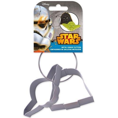 SALE!!! Cookie Cutter -Set of 2 -STAR WARS -Yoda & Darth Vader - Σετ 2τεμ κουπ πατ Star Wars  Γιόντα & Νταρθ Βέϊντερ