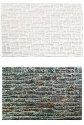 SALE!!! FPC -Silicone Texture Mat -STONE WALL -Πατάκι Σιλικόνης Πέτρινος Τοίχος