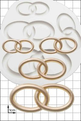 FPC Silicone Mould -WEDDING RINGS -Καλούπι Βέρες