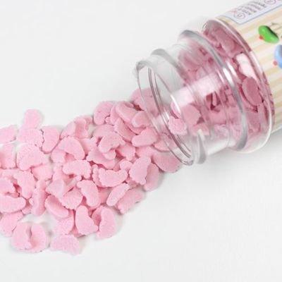FunCakes Sprinkles -BABY FEET -PINK -Μείγμα Ζαχαρωτών Ροζ Μωρουδίστικα Ποδαράκια 55γρ