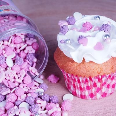 FunCakes Sprinkle Mix 180γρ -PRINCESS MEDLEY -Μείγμα  Ζαχαρωτών - Πριγκίπισσα