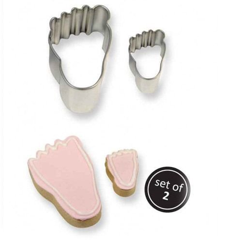 PME Cookie Cutters -Set of 2 -FEET -Σετ 2τεμ Κουπ πατ Πόδι/Πατούσα