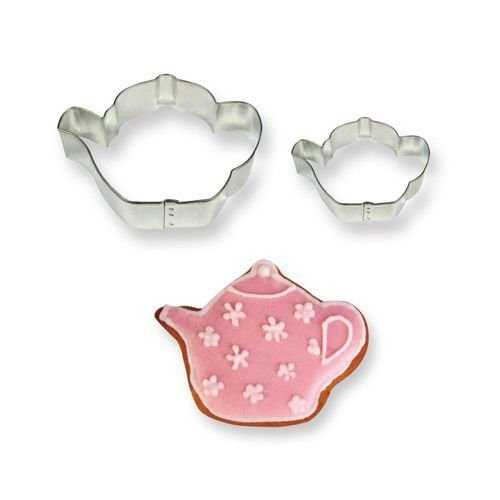 PME Cookie Cutters -Set of 2 -TEAPOTS -Σετ 2τεμ Κουπ πατ Τσαγιέρα