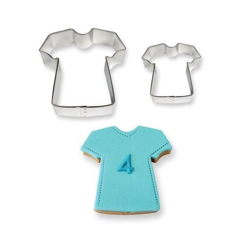 PME Cookie Cutters -Set of 2 -T-SHIRTS -Σετ 2τεμ Κουπ πατ Μπλουζάκια