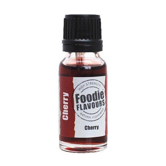 Foodie Flavours Natural CHERRY Flavouring -Φυσικό Άρωμα με Γεύση Κερασιού 15ml ∞