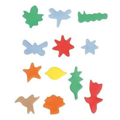 SALE!!! Cake Star Mini Metal Cutters -NATURE - Σετ 12τεμ Μικρά Μεταλλικά Κουπ πατ με θέμα τη Φύση