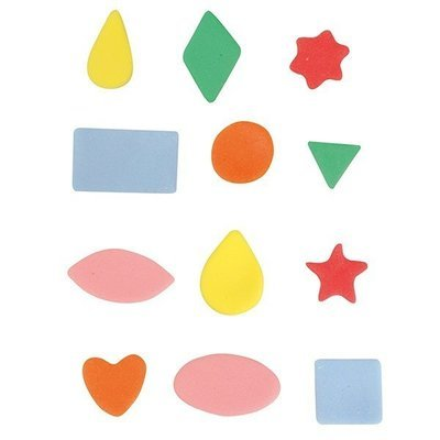 Cake Star Mini Metal Cutters -BASIC SHAPES - Σετ 12τεμ Μικρά Μεταλλικά Κουπ πατ Βασικά Σχήματα ∞