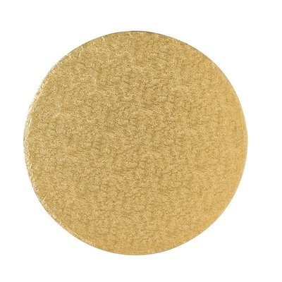 Cake Drum Round -GOLD 30cm (12