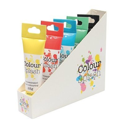 Colour Splash GEL -Set of 5 Primary Colours -Σετ 5 Βασικά Χρώματα Τζελ 5x25g