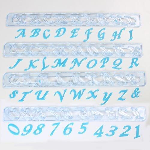 FMM Alphabet Tappit -SCRIPT UPPERCASE & Numbers - Κουπ πατ Λατινικό Αλφάβητο - Κεφαλαία Γράμματα & Αριθμοί