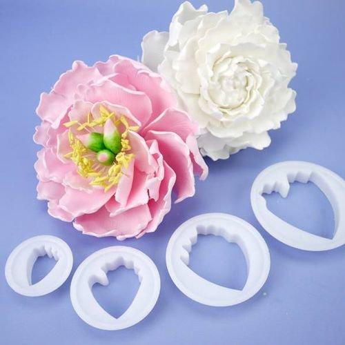 FMM Flower Cutters -PEONY Set of 4 - Σετ 4τεμ κουπ πατ Παιώνια