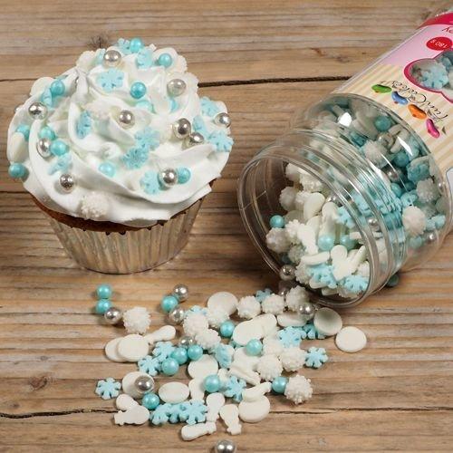 FunCakes Sprinkle Mix 180γρ -FROZEN MEDLEY -Μείγμα  Ζαχαρωτών - Φρόζεν 180γρ