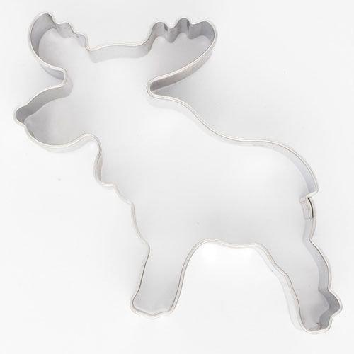 Cookie Cutter Moose 6cm - Κουπ πατ Άλκη (Αμερικάνικο Ελάφι) - 7x5εκ