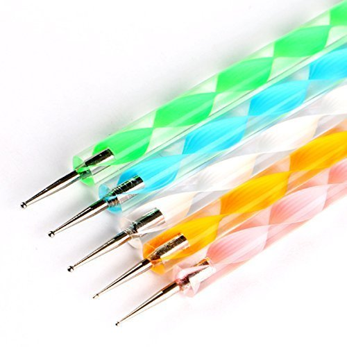 Double Ended Mini Ball Tools Set of 5 - Σετ 5τεμ  Εργαλεία Σχεδιασμού Διπλής Όψης με Μπάλες στο Τελείωμα