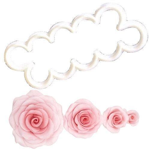 FMM Flower Cutters -THE EASIEST ROSE EVER -Κουπ πατ Εύκολο Τριαντάφυλλο