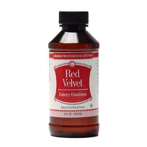 Lorann Bakery Emulsion -RED VELVET -Γαλάκτωμα Ζαχαροπλαστικής Ρεντ Βέλβετ 118ml
