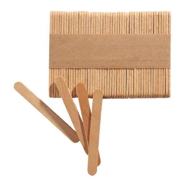 Silikomart Popsicle Sticks MINI pack of 100 - Ξυλάκια Μίνι 7.2x0.8x0.2εκ 100τεμ