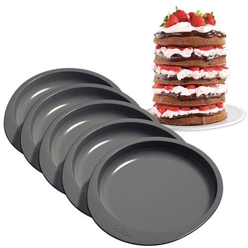 Wilton Baking Pans -EASY LAYERS -15εκ -Σετ με 5 Ταψιά
