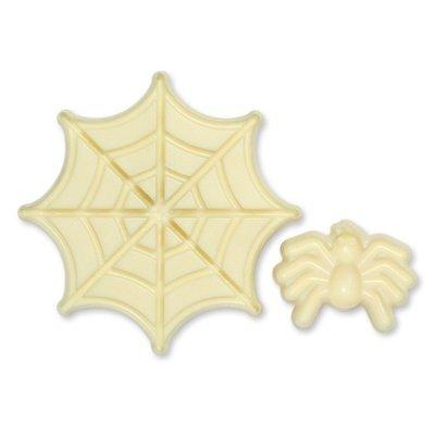 JEM Pop It Mould -SPIDER & WEB -Σετ 2τεμ καλούπι Αράχνη με Ιστό
