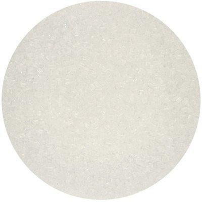 FunCakes Coloured Sugar -WHITE -Χρωματιστή Ζάχαρη -Λευκή 80γρ