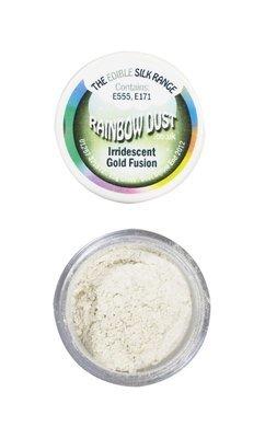 Rainbow Dust Edible Dust -Pearl IRIDESCENT GOLD FUSION -Βρώσιμη Σκόνη Περλέ Χρυσό Ιριδίζον