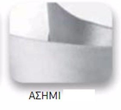 Ribbons - 6.5mm Silver Double Faced Satin Ribbon 100m - Κορδέλα Σατέν Διπλής Όψης Ασημί