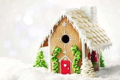 Patisse - Gingerbread House Cutter Cookie Set of 7 - Σετ 7τεμ Κουπ πατ για Mπισκοτόσπιτο - Περίπου 13.5x21x25.5εκ