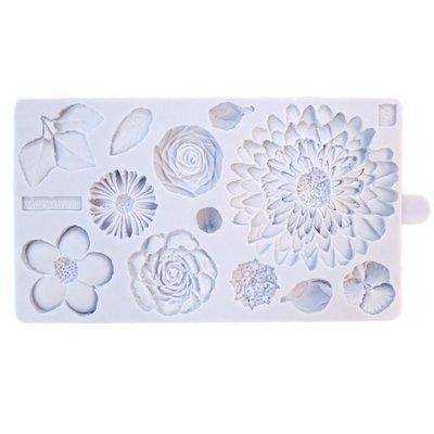 Karen Davies Silicone Mould -BUTTERCREAM FLOWERS -Καλούπι Σιλικόνης Λουλούδια Βουτυρόκρεμας