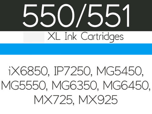 Edible Ink Cartridge -CYAN BLUE for Canon  IP7250 Βρώσιμο Μελάνι Μπλε