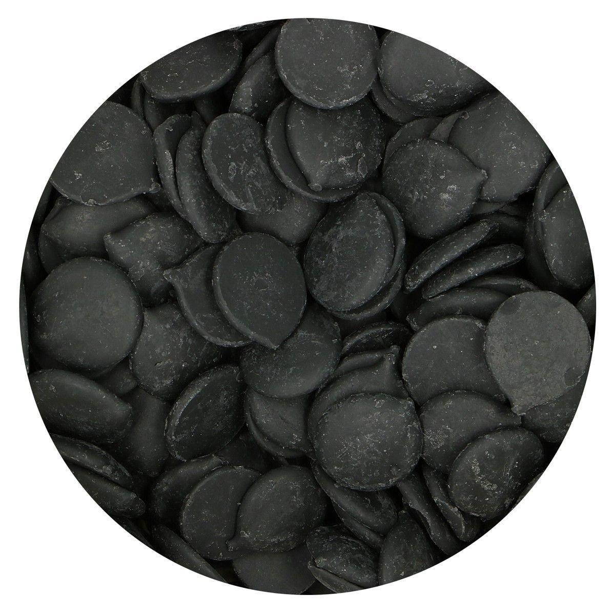 FunCakes Deco Melts -BLACK -Μαύρο 250γρ
