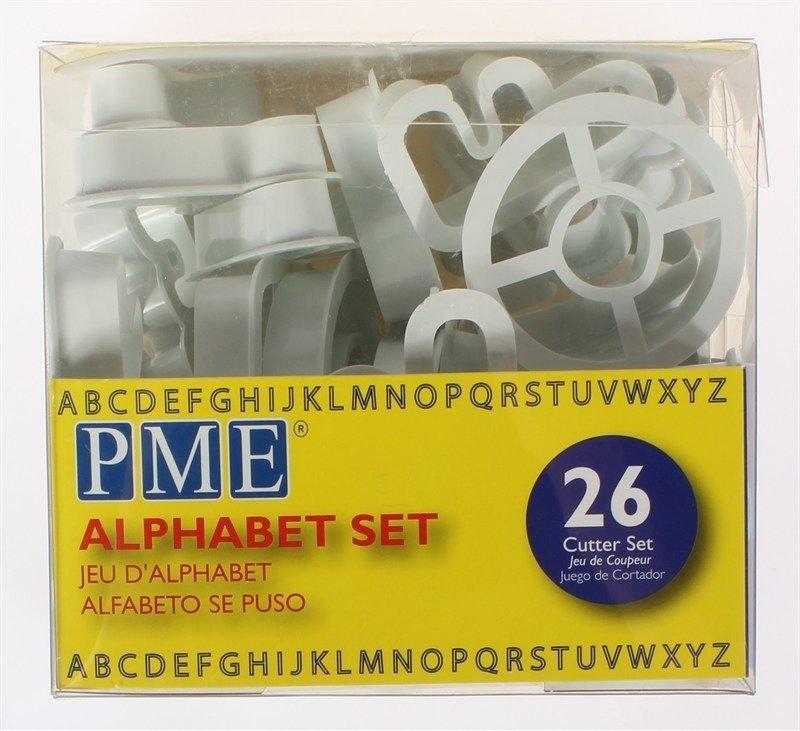 PME Cutters -Alphabet 26pcs -Σετ 26τεμ Κουπ πατ Αλφάβητο Κεφαλαία Γράμματα - 5εκ
