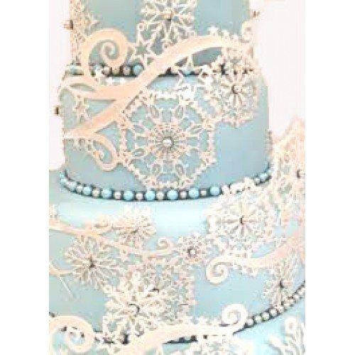 SALE!!! Claire Bowman -Cake Lace Mat -CRYSTAL -Πατάκι Δαντέλας -Κρύσταλλο