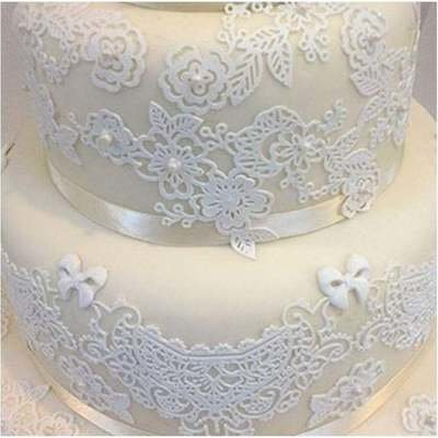 SALE!!! Claire Bowman -Cake Lace Mat -SWEET LACE -Πατάκι Δαντέλας