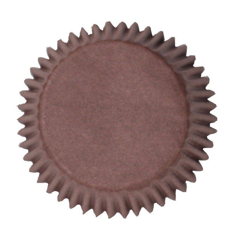 Culpitt BULK Cupcake Cases -PLAIN BROWN -Θήκες Ψησίματος Καφέ 250 τεμ