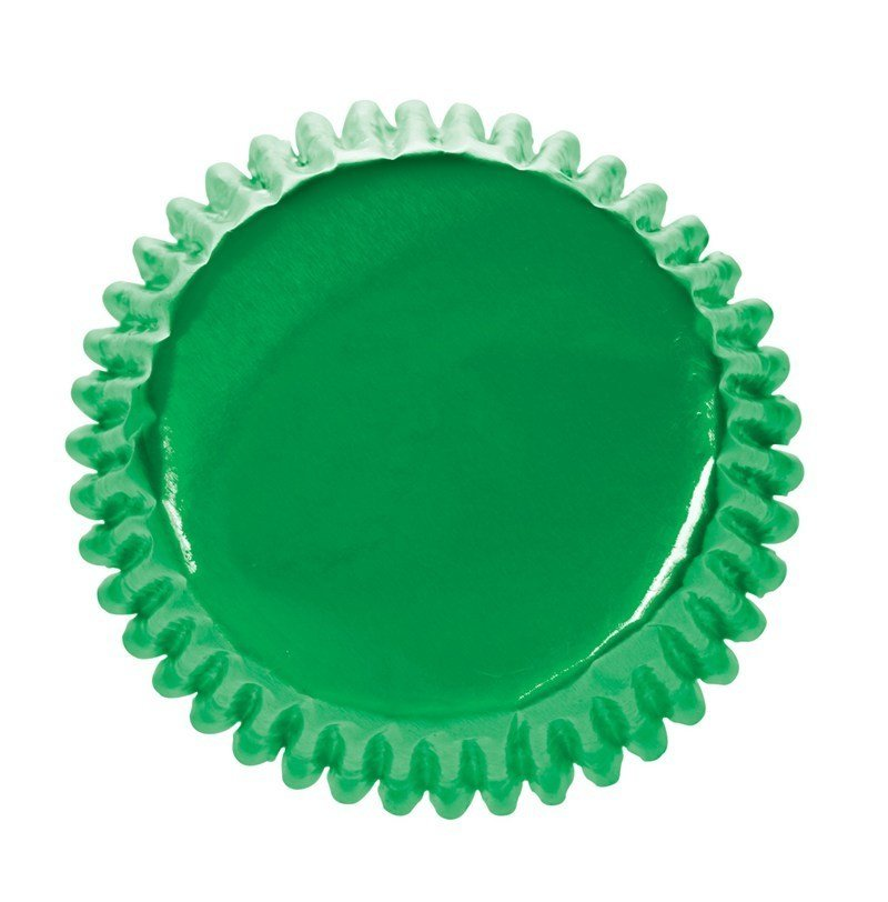 Culpitt Cupcake Cases -METALLIC GREEN - Θήκες Ψησίματος -Μεταλλικό Πράσινο 45τεμ