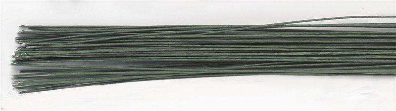 Culpitt Floral Wire -DARK GREEN -24 gauge -Σύρμα Λουλουδιών -Σκούρο Πράσινο 50 τεμ