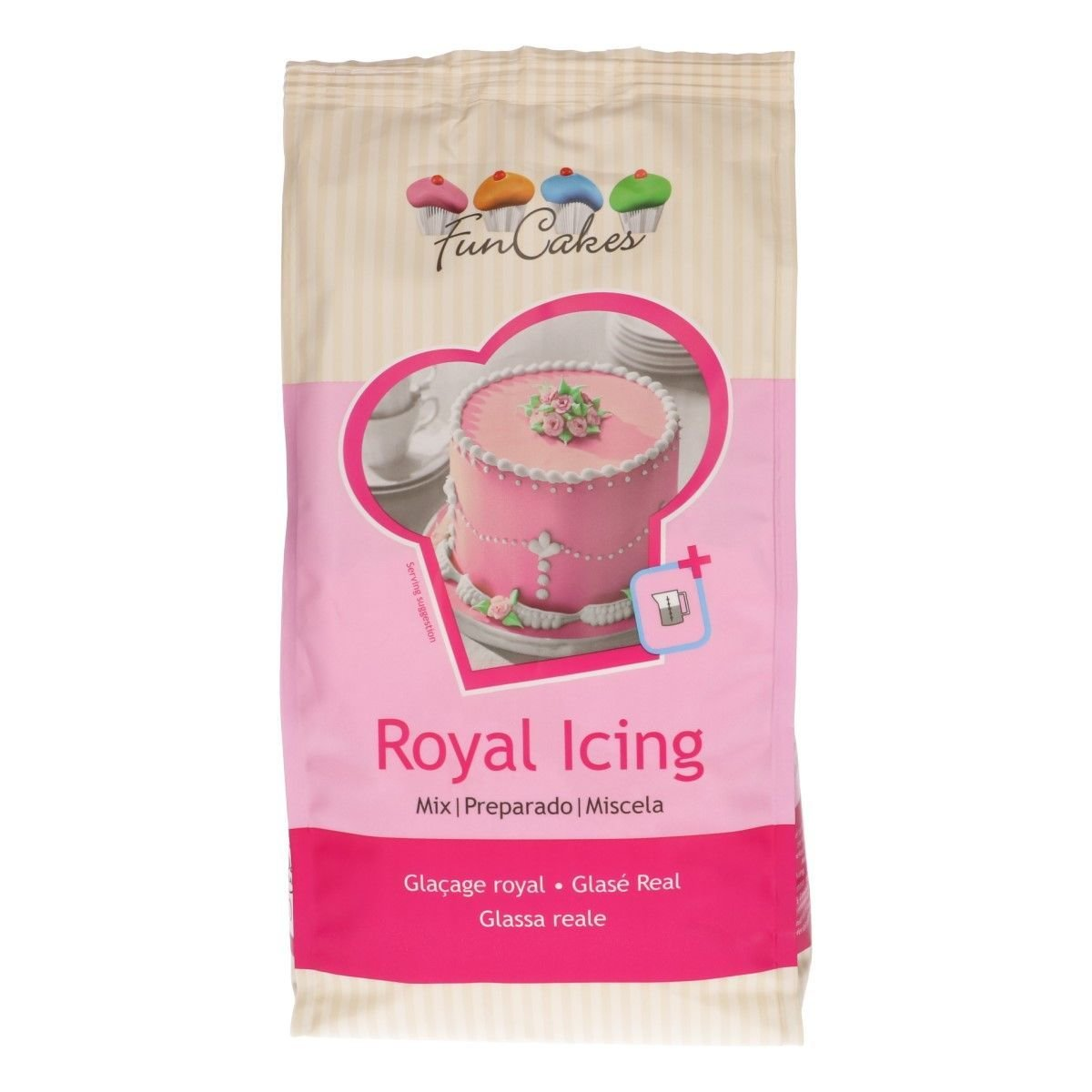 FunCakes Mix for ROYAL ICING 450γρ - Μείγμα για Αυγόγλασο 450γρ