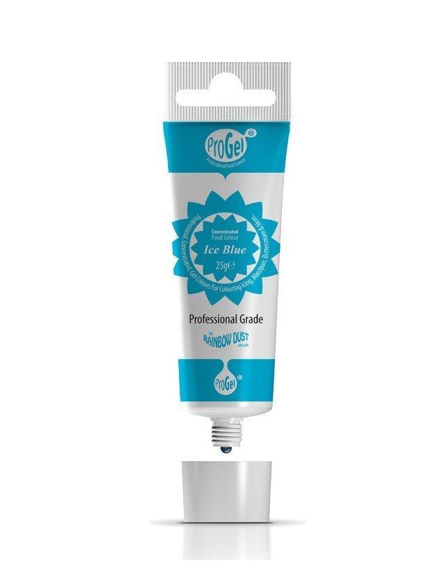 Rainbow Dust ProGel® -ICE BLUE -Χρώμα Τζελ Μπλε του Πάγου 25γρ