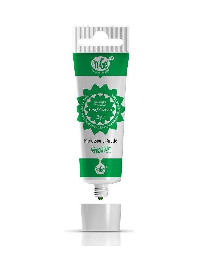Rainbow Dust ProGel® -LEAF GREEN -Χρώμα Τζελ Πράσινο του Φύλλου 25γρ