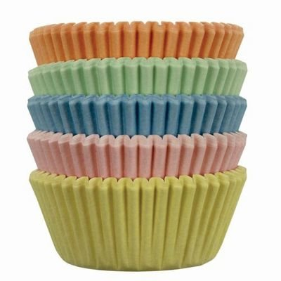 PME Cupcake Cases -MINI PASTEL COLOURS - Πολύχρωμες Παστέλ Μίνι Θήκες Ψησίματος για Κάπκεϊκς 100τεμ