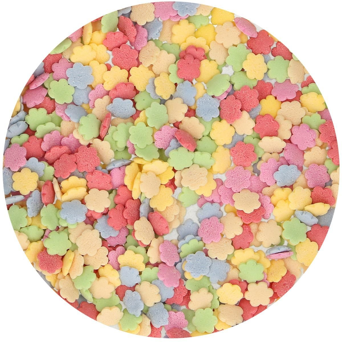 FunCakes Sprinkles -FLOWER MIX -Μείγμα Ζαχαρωτών Λουλουδάκια 60γρ