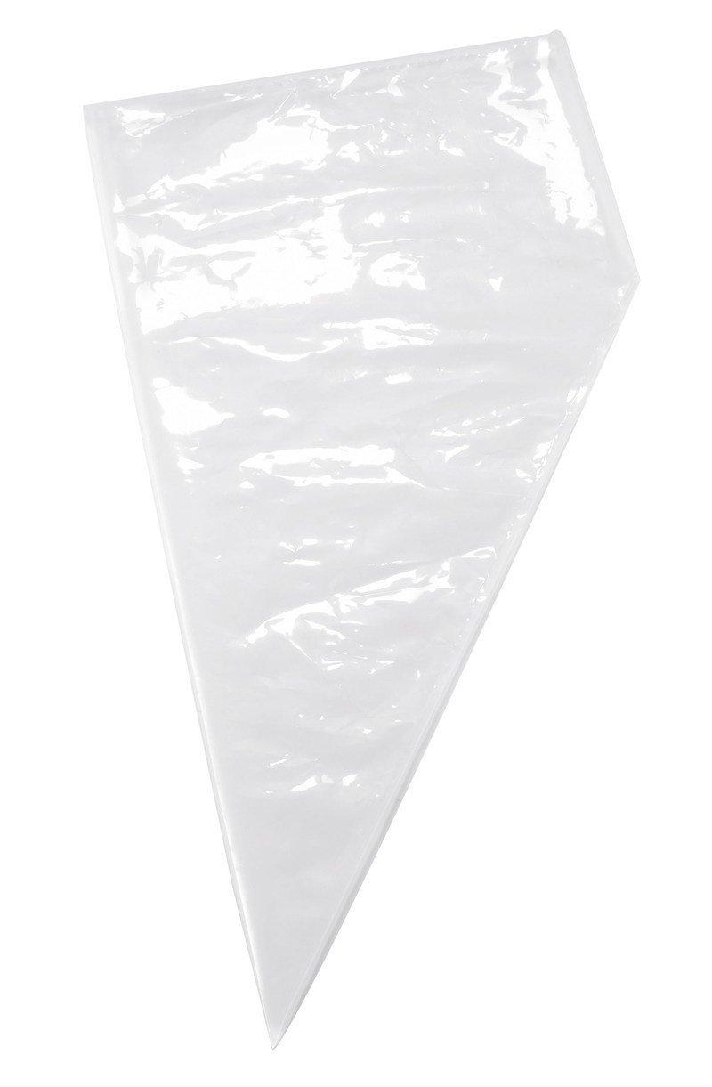 "Disposable Piping Bag 53cm (21"") Clear - Σακούλα Ζαχαροπλαστικής/Κορνέ μιας χρήσης- Διάφανη - 52εκ"