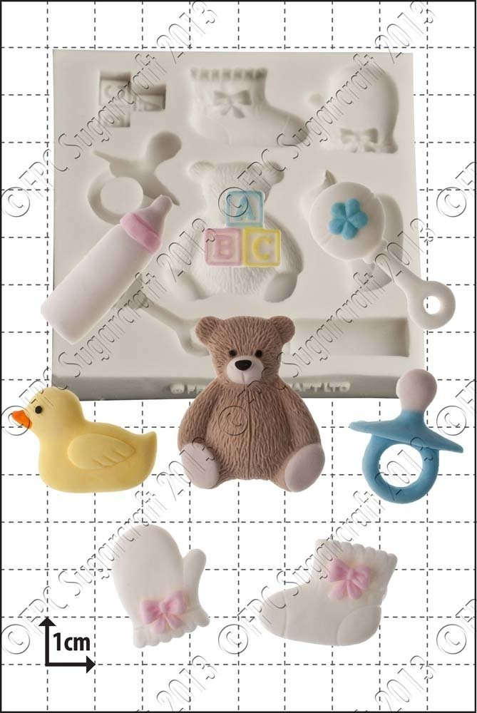 FPC Silicone Mould -BABY SHOWER -Καλούπι Σιλικόνης  Μωρουδιακά